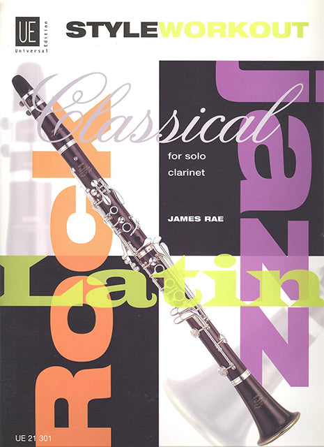 Style Workout for Solo Clarinet - James Rae