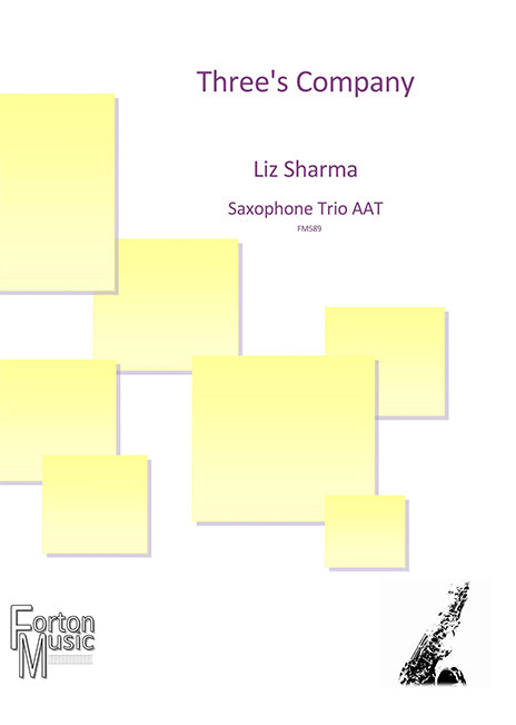 Three's Company Saxophone Trio AAT - Liz Sharma