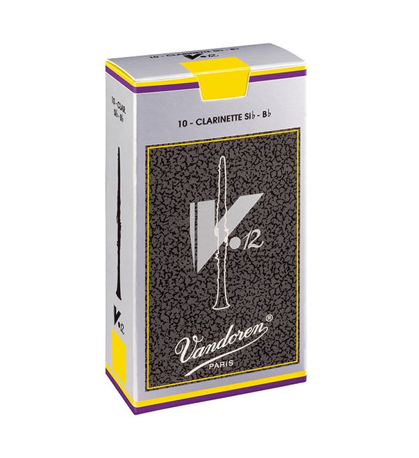 Vandoren V12 Bb Clarinet Reeds Box of 10
