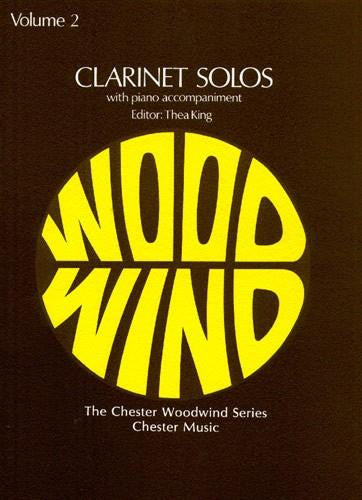 Clarinet Solos - The Chester Woodwind Series Volume 2