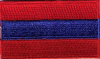 "Armenia Flag Patch 1.5"" x 2.5"""
