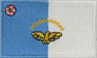 "Azores Flag Patch 1.5"" x 2.5"""