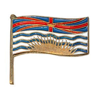 British Columbia Flag Lapel / Hat Pin 7/8""