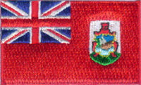 "Bermuda Flag Patch 1.5"" x 2.5"""