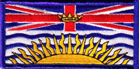 British Columbia Provincial Flag Patch