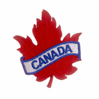 Canada Maple Leaf Patch Badge