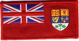 Canadian Red Ensign flag patch design