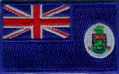 "Cayman Islands Flag Patch 1.5"" x 2.5"""