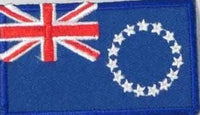 "Cook's Island Flag Patch 1.5"" x 2.5"""