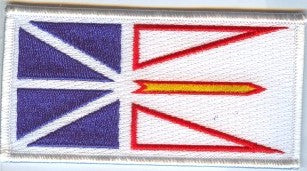 Newfoundland Provincial Flag Patch