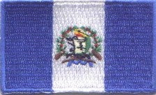 "Guatemala Flag Patch 1.5"" x 2.5"""