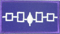 "Iroquois Confederacy (League) Flag Patch 1.5"" x 2.5"""