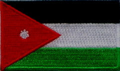 "Jordan Flag Patch 1.5"" x 2.5"""