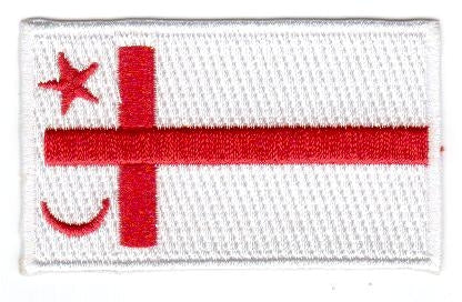 "Mi'kmaq Flag Patch 1.5"" x 2.5"""