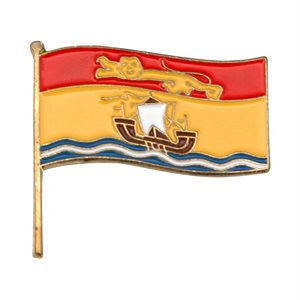 New Brunswick Flag Lapel / Hat Pin 7/8""