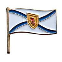 Nova Scotia Flag Lapel / Hat Pin 7/8""