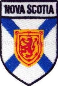 "Nova Scotia Shield Patch 2.5"" x 1.5"""