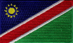 "Namibia Flag Patch 1.5"" x 2.5"""