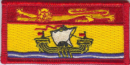 New Brunswick Provincial Flag Patch