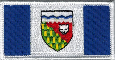 Northwest Territories Flag Patch