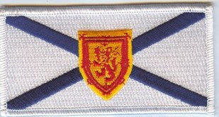 Nova Scotia Provincial Flag Patch