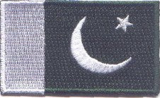 "Pakistan Flag Patch 1.5"" x 2.5"""