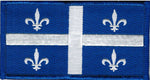 Quebec Provincial Flag Patch