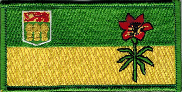 Saskatchewan Provincial Flag Patch