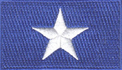 "Somalia Flag Patch 1.5"" x 2.5"""