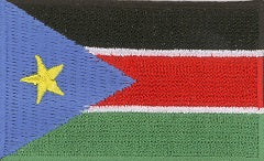 "South Sudan Flag Patch 1.5"" x 2.5"""