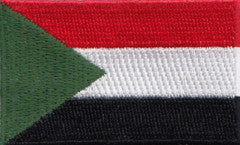 "Sudan Flag Patch 1.5"" x 2.5"""