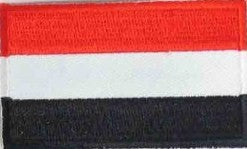 "Yemen Flag Patch 1.5"" x 2.5"""