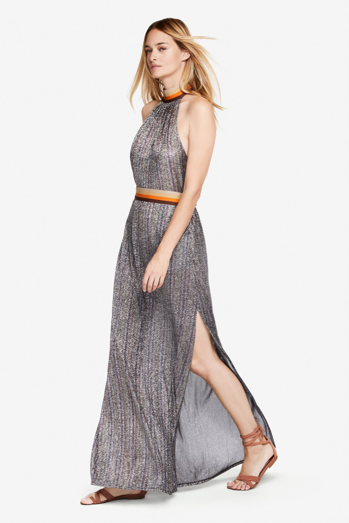 Metallic Coverup Gown