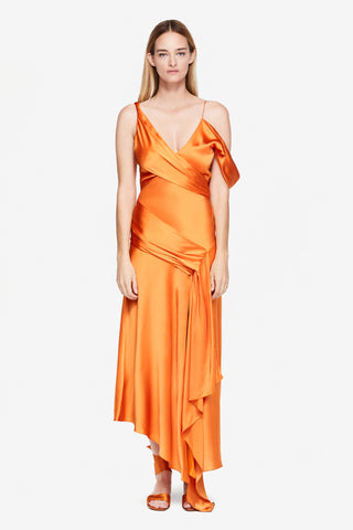 Fluid Satin Gown