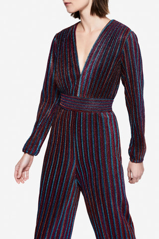 Rainbow Pleats Jumpsuit