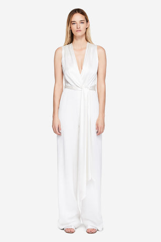 Fluid Satin Jumpsuit