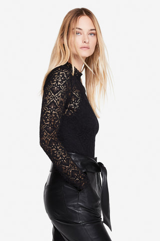 Multimedia Lace Bodysuit