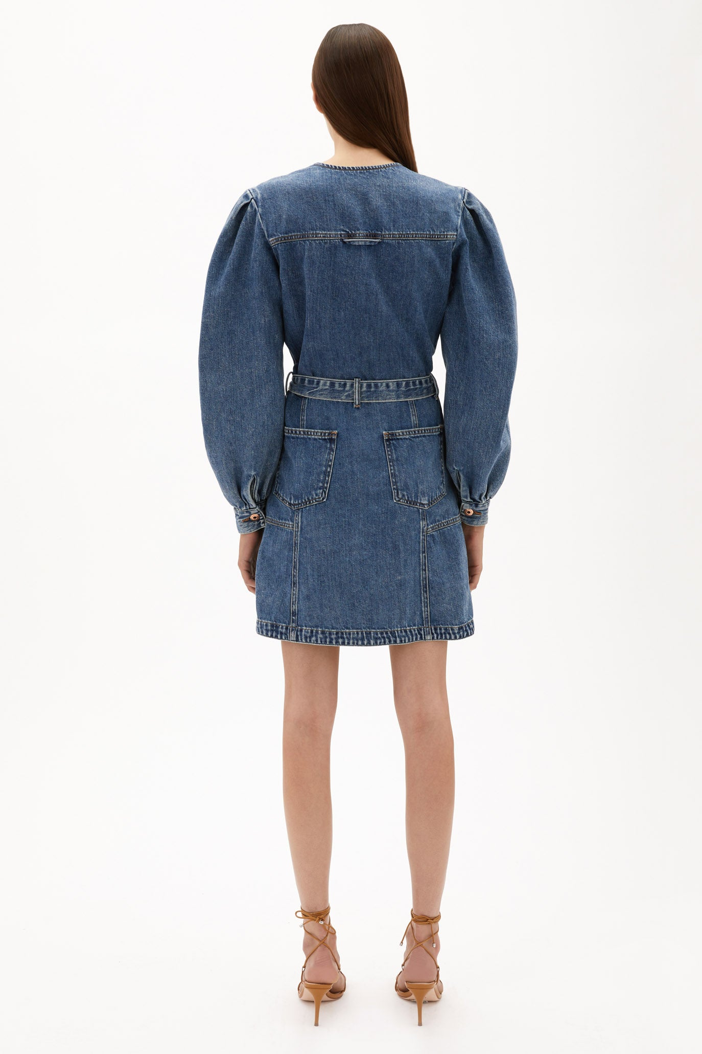 Sasha Denim Mini Dress