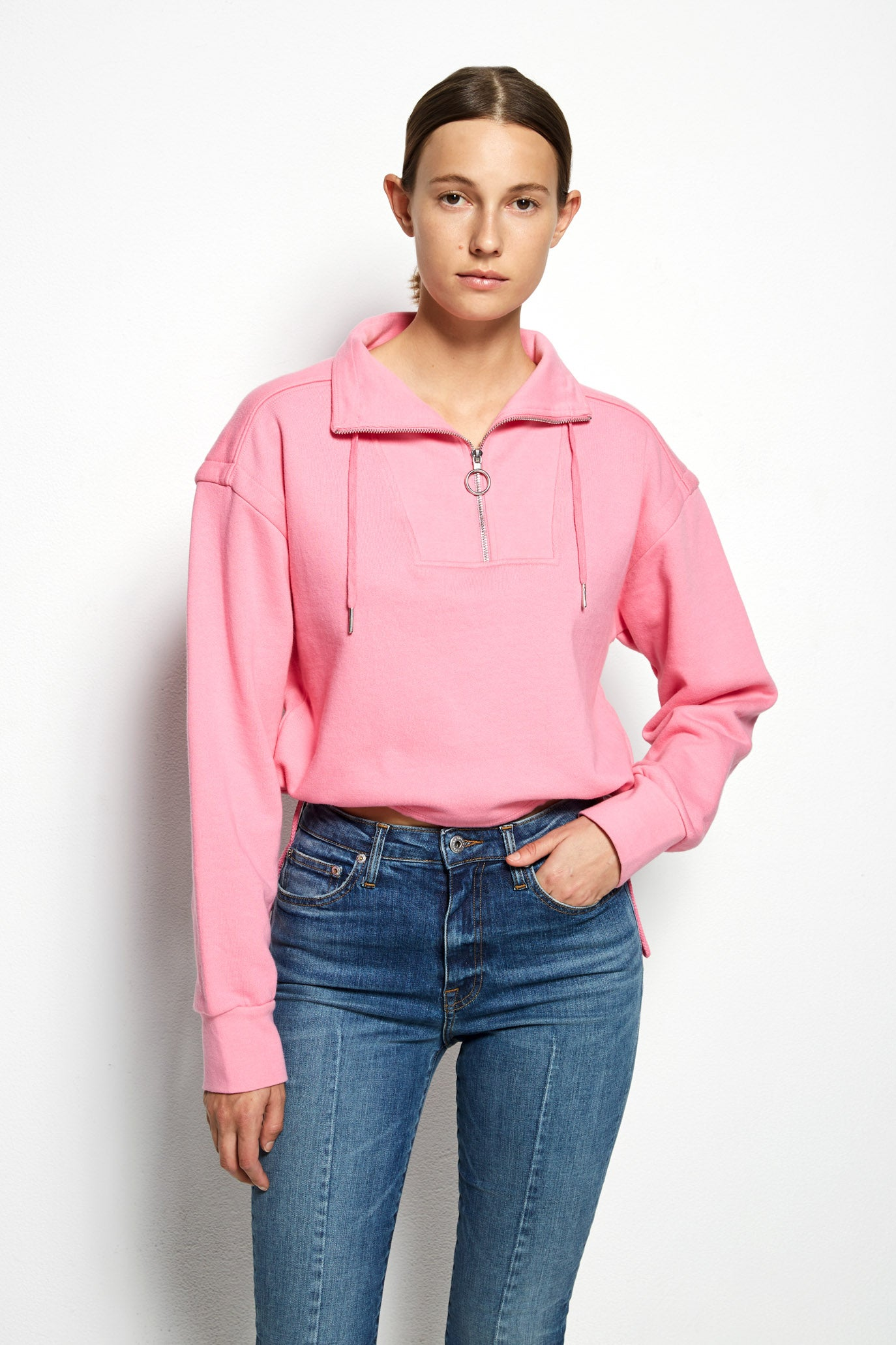 Zella Terry Pullover