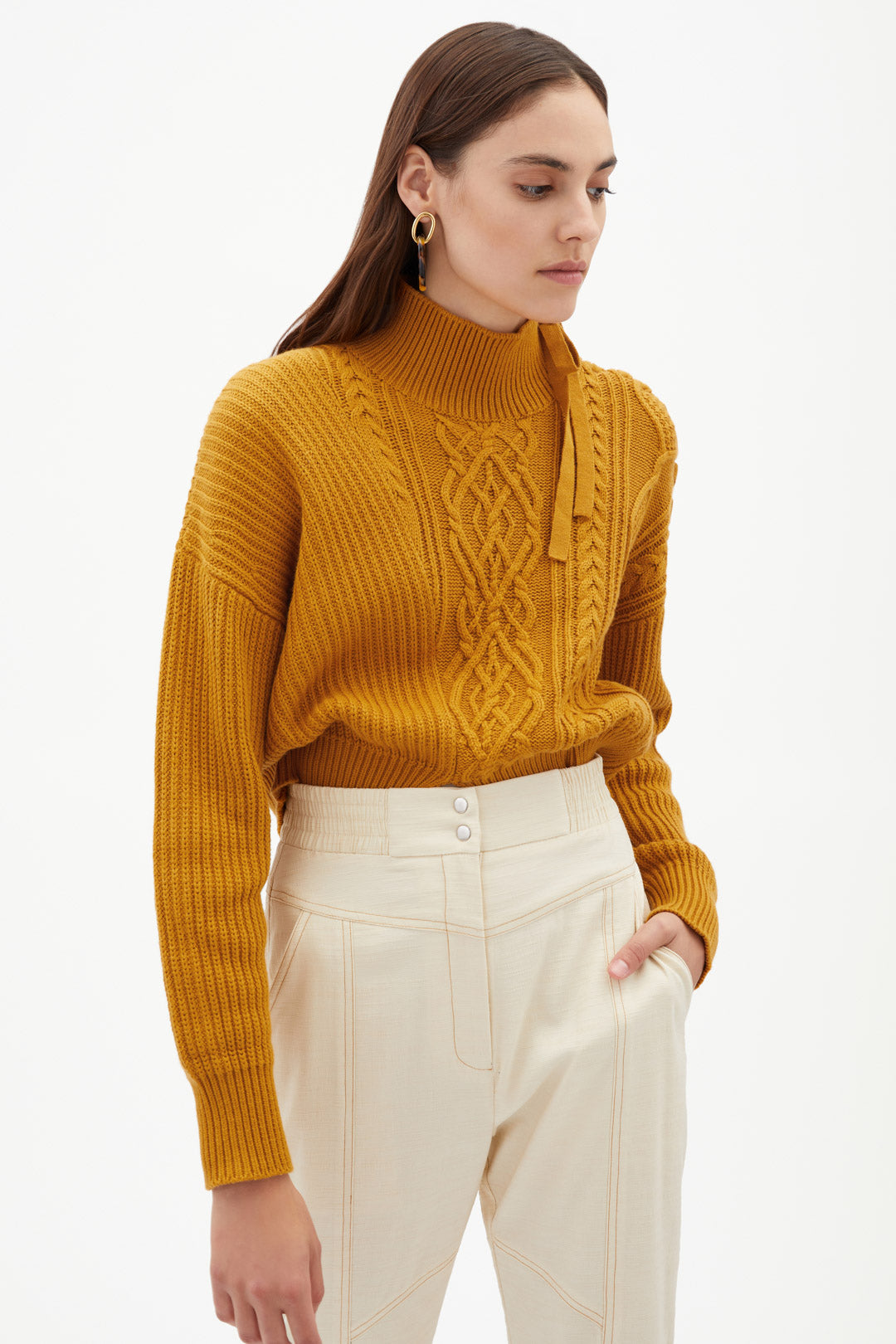 Arina Fisherman Turtleneck