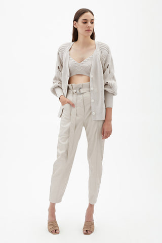 Leela Vegan Leather Pant