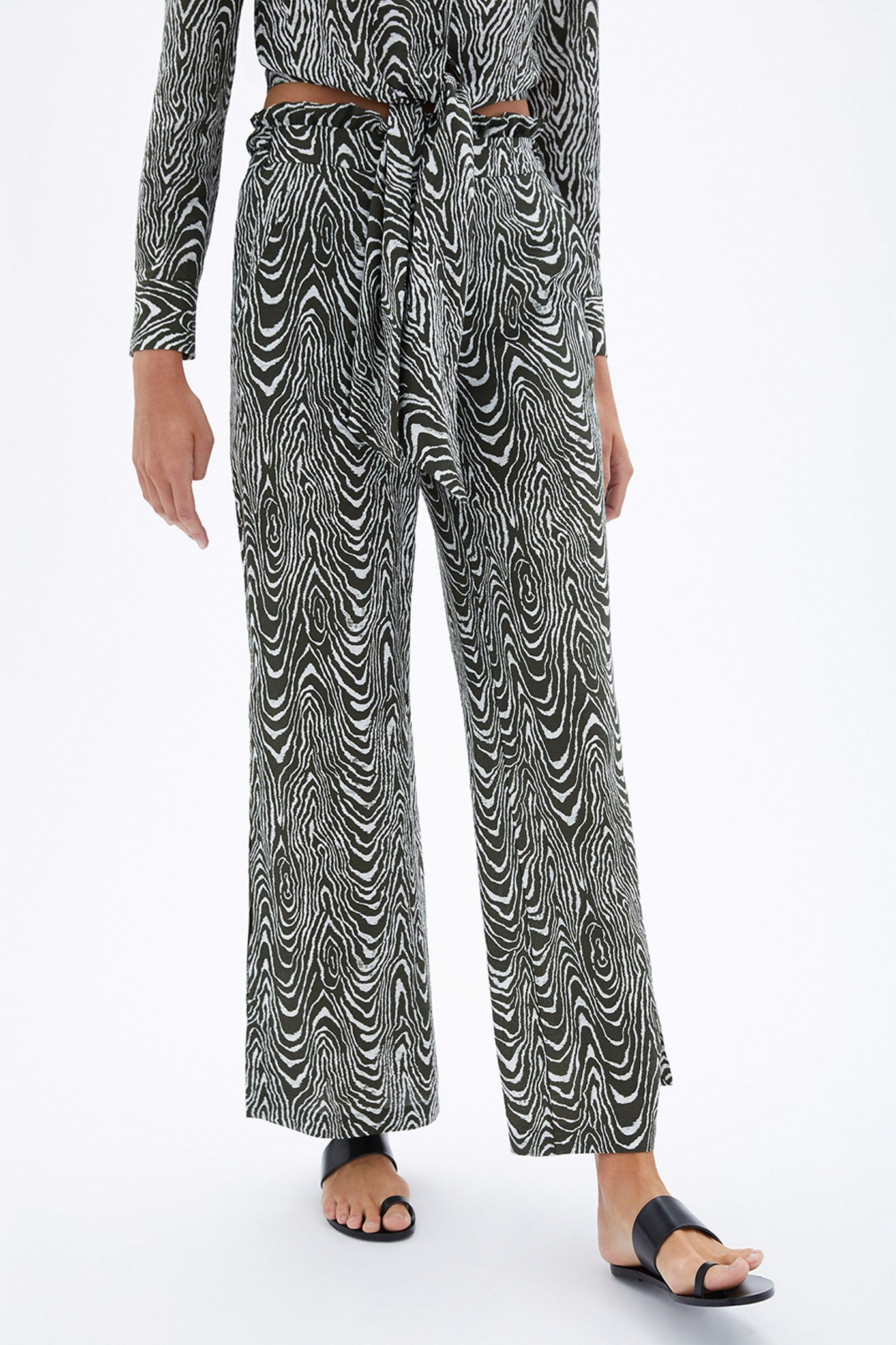 Kinzley Printed Coverup Pant
