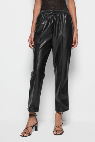 Tay Vegan Leather Jogger