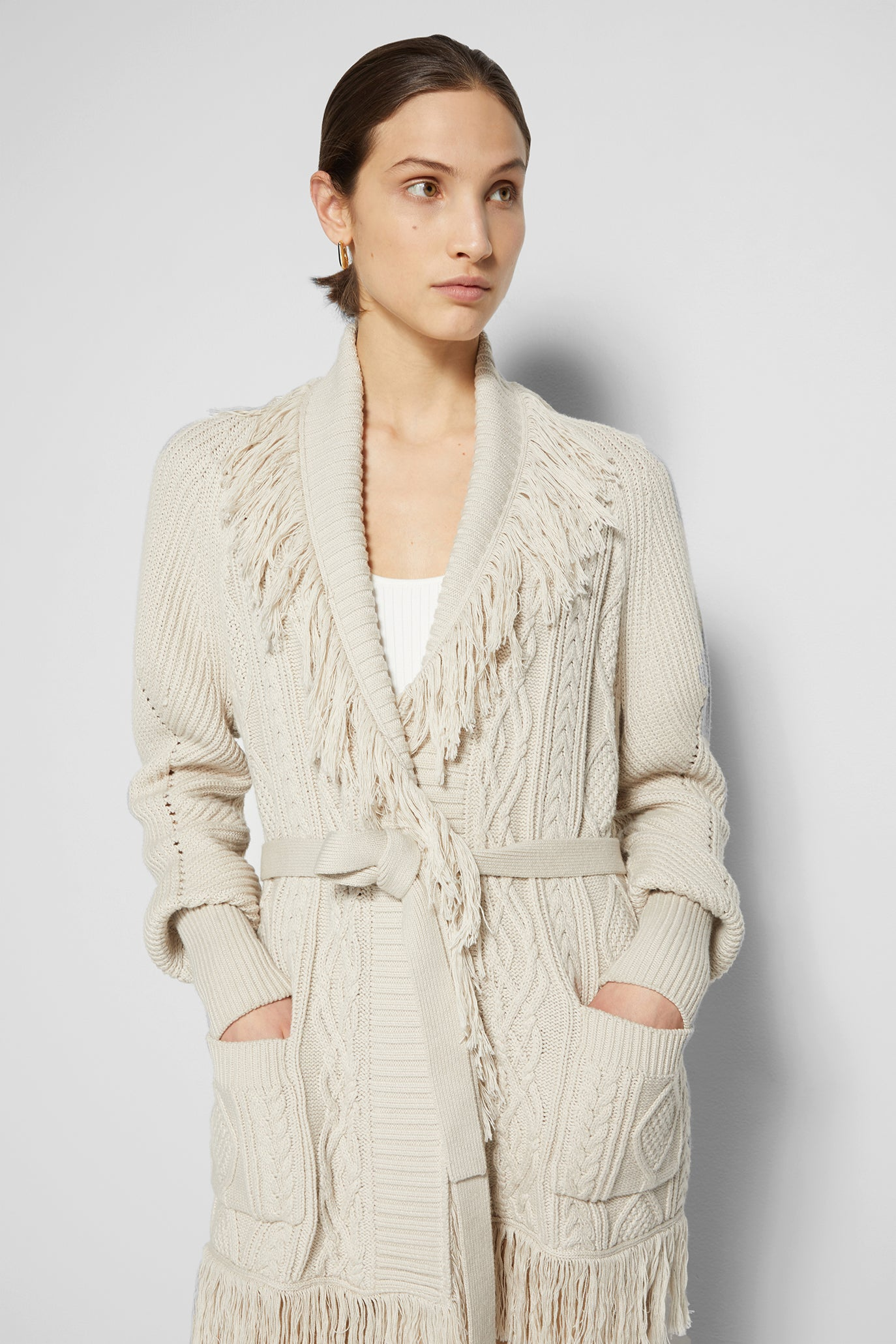 Anina Fisherman Cardigan