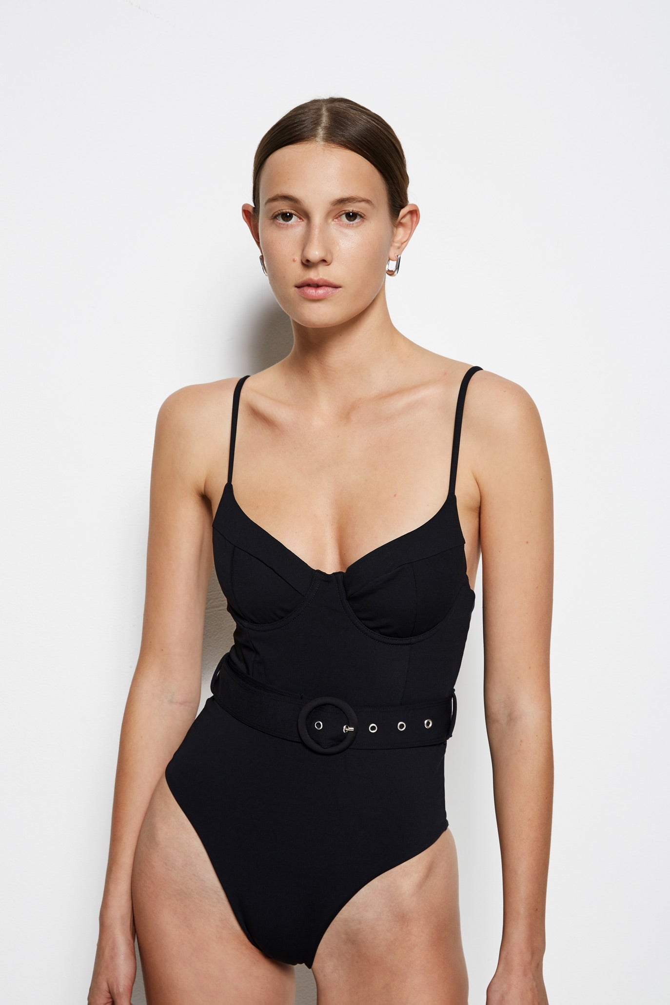 Noa Belted Swim One Piece