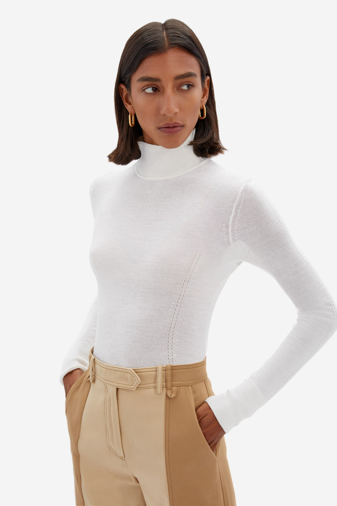 Faith Featherweight Cashmere Top