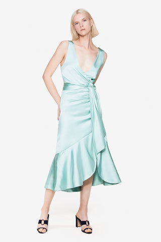 Mia Satin Dress