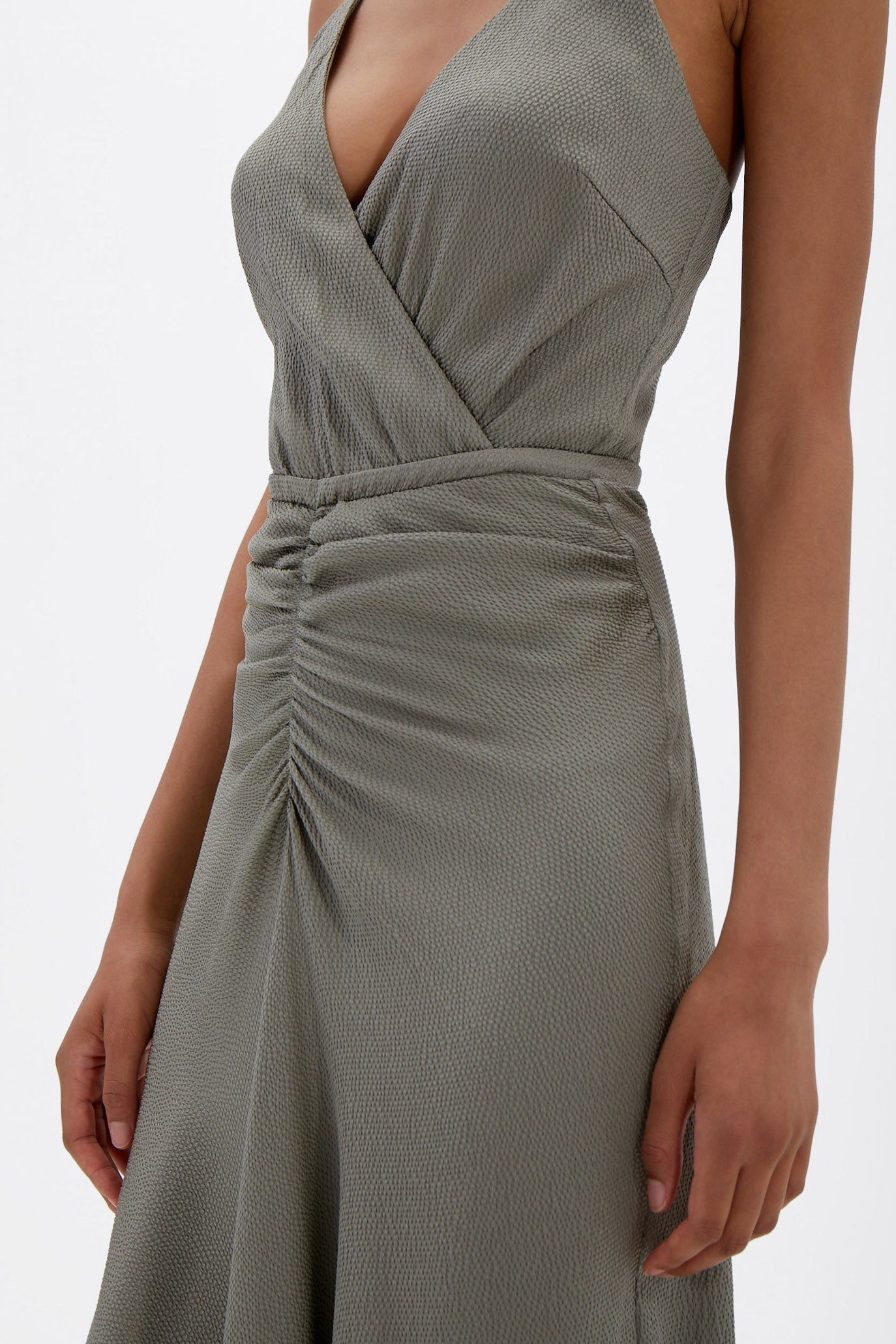 Lizeth Silk Midi Dress