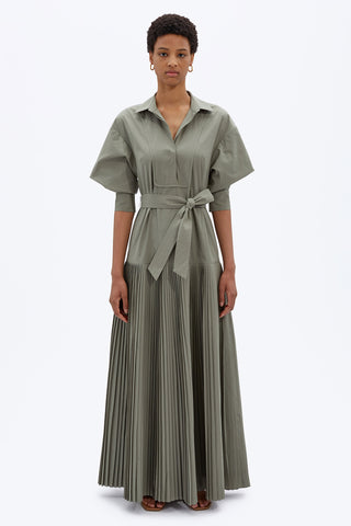 Arlo Pleated Maxi Dress