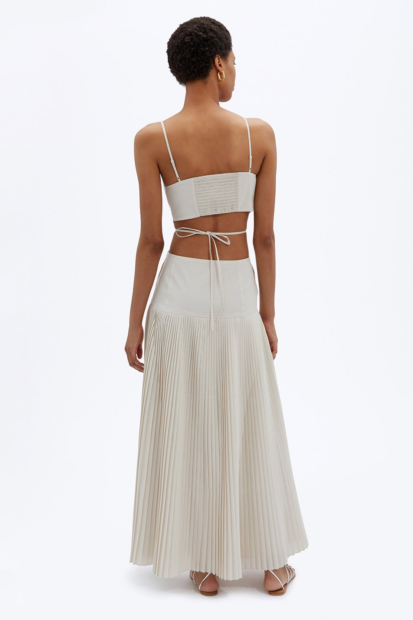 Rem Pleated Maxi Dress